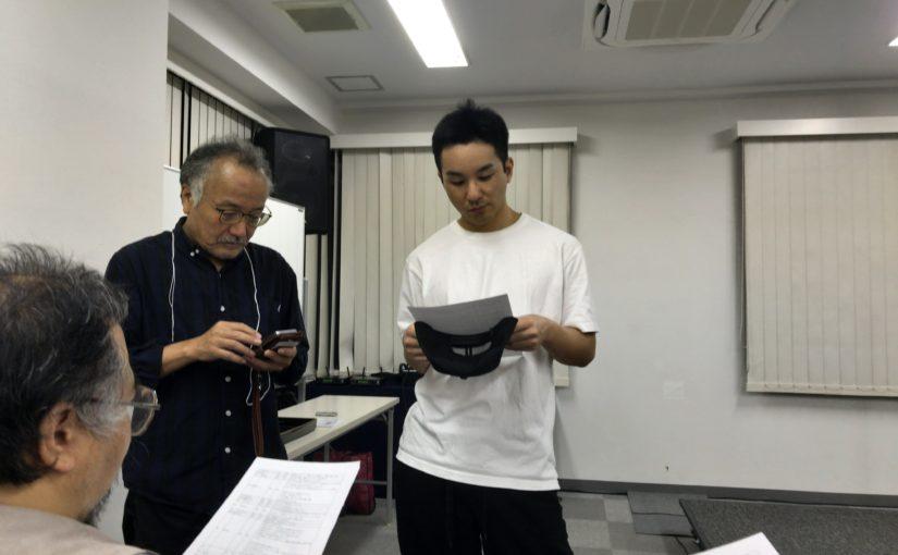 アマサワトキオ&斧田小夜、創元SF短編賞受賞式
